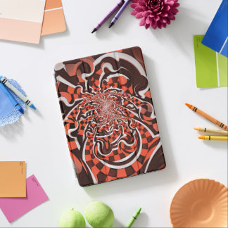 Harley Quinn's Peppermint Candycane Kissed Fractal iPad Pro Cover