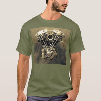 Harley Shovelhead V-Twin Photo #1 T-Shirt