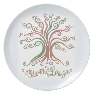 Harm Less Plate