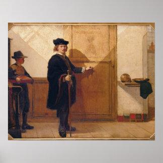 Harmensz van Rijn Rembrandt (1606-69) Knocking on Poster
