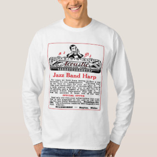 Harmonica Ad Men's light long sleeve T-Shirt