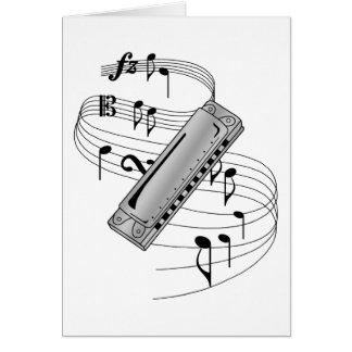 Harmonica Card