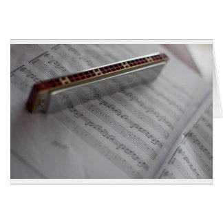 Harmonica Music Notes Book