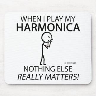 Harmonica Nothing Else Matters Mouse Pad
