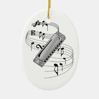Harmonica Ornament