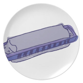 Harmonica Party Plate
