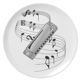 Harmonica Plate