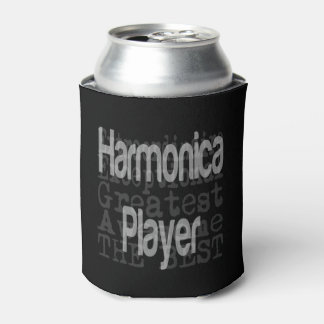 Harmonica Player Extraordinaire Can Cooler