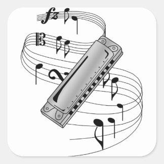 Harmonica Sticker