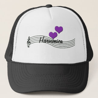 Harmonica Trucker Hat