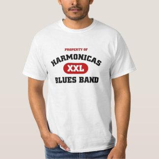 Harmonicas Blues Band T-Shirt