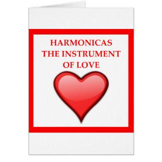 HARMONICAS CARD