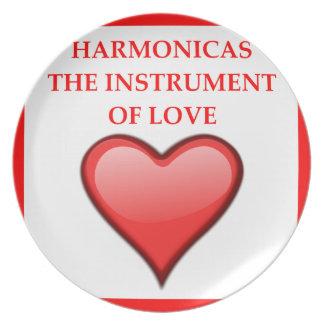 HARMONICAS PLATE