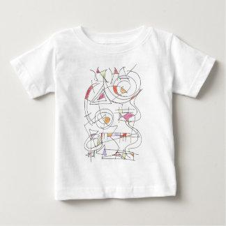 Harmonious-Abstract Art Print Baby T-Shirt