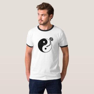 Harmonious Balance on Vinyl T-Shirt