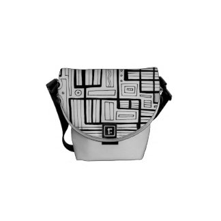 Harmonious Plentiful Keen Keen 631 Art Messenger Bag