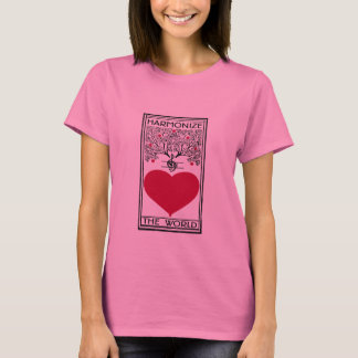 Harmonize the World Heart T-Shirt