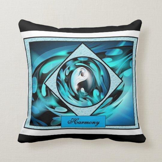 Harmony and Balance Throw Pillow