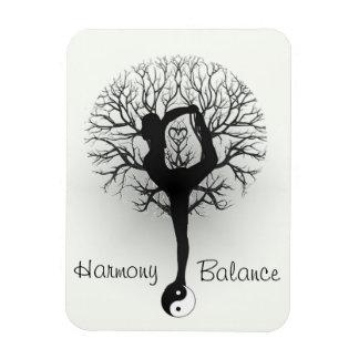 Harmony & Balance Yoga Magnet