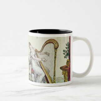 Harmony before Matrimony, 1805 Two-Tone Coffee Mug