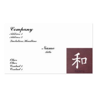 Harmony Business Card