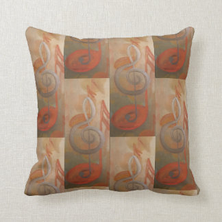 Harmony Fine Art Music Painting Throw Pillow