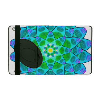 Harmony Flower Mandala iPad Folio Case