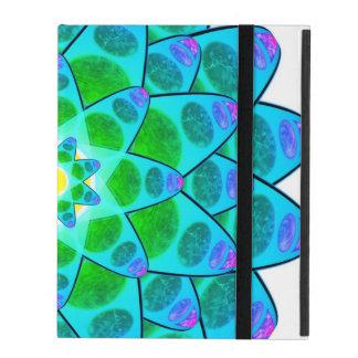 Harmony Flower Mandala iPad Folio Cover