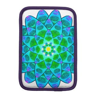 Harmony Flower Mandala iPad Mini Sleeves