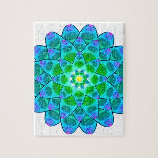Harmony Flower Mandala Puzzles