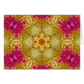 Harmony Flower Star Card