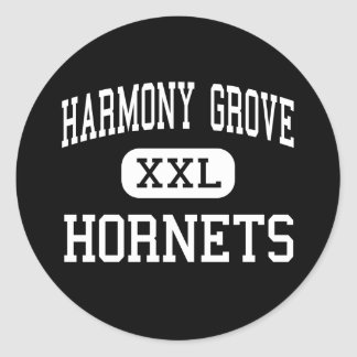 Harmony Grove - Hornets - High - Camden Arkansas Classic Round Sticker