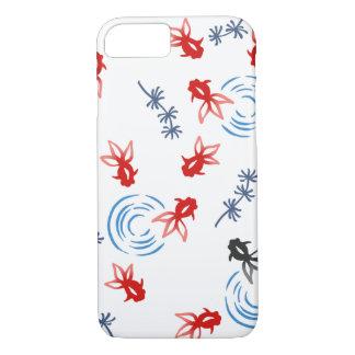 < Harmony handle goldfish >Goldfishes of Japanese iPhone 8/7 Case