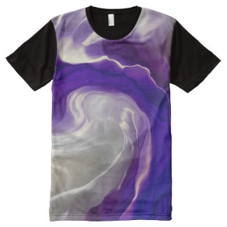 Harmony in purple All-Over-Print T-Shirt