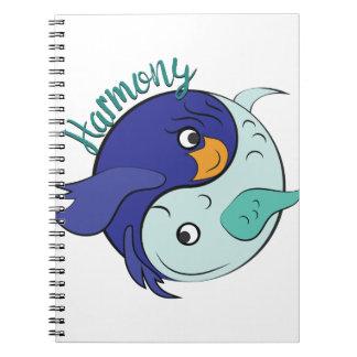 Harmony Notebooks