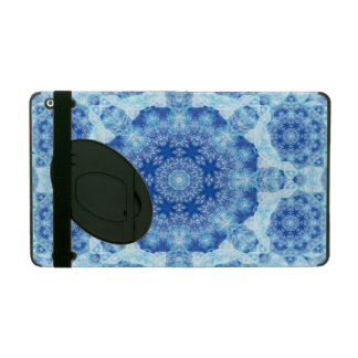 Harmony of Ice Mandala iPad Cases