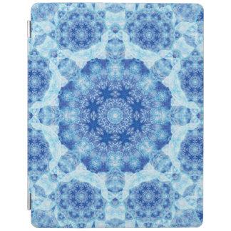Harmony of Ice Mandala iPad Cover