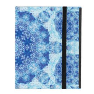 Harmony of Ice Mandala iPad Covers