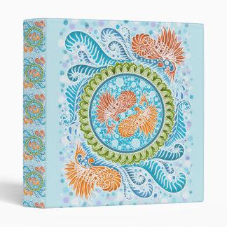 Harmony of the seas ,boho,hippie,bohemian 3 ring binder