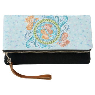 Harmony of the seas ,boho,hippie,bohemian clutch