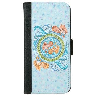 Harmony of the seas ,boho,hippie,bohemian iPhone 6 wallet case