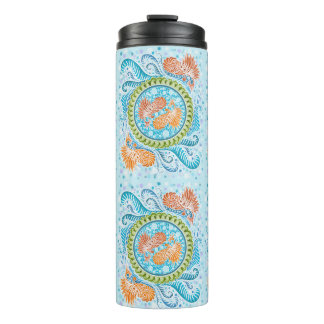 Harmony of the seas ,boho,hippie,bohemian thermal tumbler