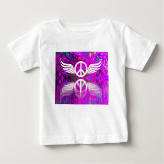 Harmony peace and hope for the human world baby T-Shirt