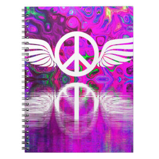 Harmony peace and hope for the human world notebooks