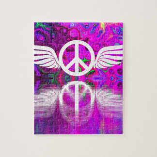 Harmony peace and hope for the human world puzzles