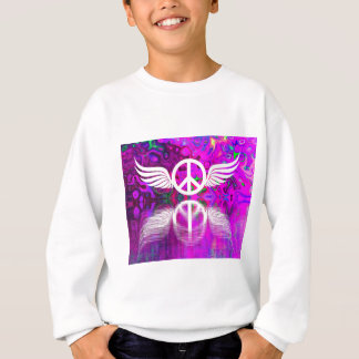 Harmony peace and hope for the human world sweatshirt