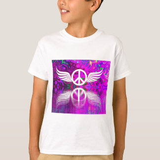 Harmony peace and hope for the human world T-Shirt