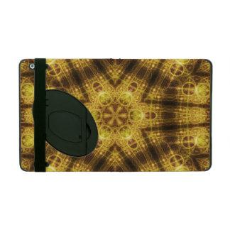 Harmony Seal Mandala iPad Folio Cover