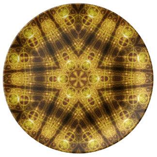 Harmony Seal Mandala Porcelain Plates