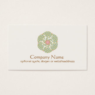 Harmony Symbol Business Card
